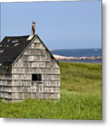 Neils Harbour Metal Print
