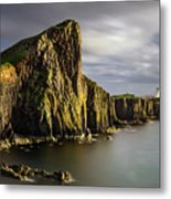 Neist Point Coastline Metal Print