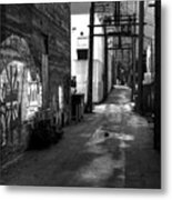 Nelson Bc Alley Metal Print
