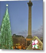 Nelson's Christmas Tree Metal Print