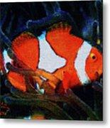 Nemo's Marlin Metal Print