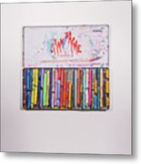 Neocolor II Metal Print