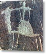 Neolithic Petroglyph Metal Print