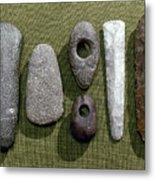 Neolithic Tools Metal Print