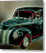 Neon Ride 3562 Metal Print