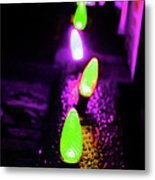 Neon Xlights Metal Print