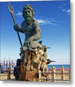 Neptune Virgina Beach  Metal Print