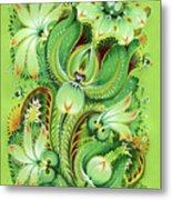 Neptunes Flowers Metal Print