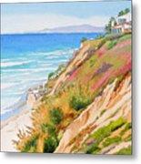 Neptune's View Leucadia California Metal Print