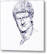 Nero Roman Emperor Series Ancient Rome Metal Print