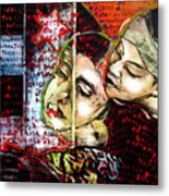 Neruda Love Poem Metal Print