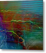 Nerve Impulses Metal Print