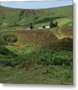 Nestled In The Valley Metal Print