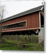 Netcher Road Covered Bridge 2 Metal Print