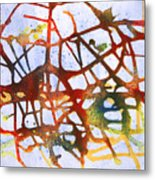 Neuron Metal Print by Mordecai Colodner