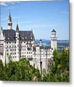 Neuschwanstein Castle Of Germany Metal Print