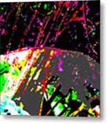 Neutrinos At Play Metal Print by Eikoni Images