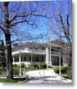 Nevada Governors Residence Metal Print