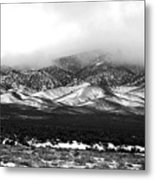 Nevada Snow Metal Print
