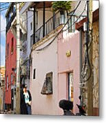 Neve Tzedek Neighborhood In Tel Aviv Metal Print by Zalman Latzkovich