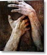 Never Let Go Metal Print