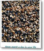 Never Regret A Day Metal Print