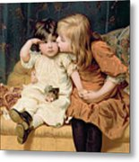 Nevermind Metal Print by Frederick Morgan