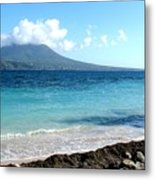 Nevis Across The Channel Metal Print