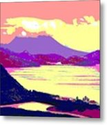 Nevis From The Penninsula Metal Print