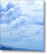 Nevis From The Roof Top Metal Print