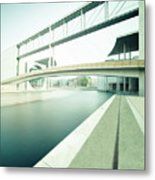 New Berlin Architecture - The Government District Metal Print