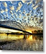 New Bridge Metal Print