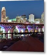 New Bridge Pano Metal Print