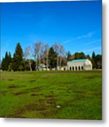 New Clairvaux Abbey Metal Print