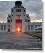 New Dawn For An Old Airport Metal Print