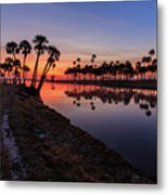 New Day At Econ River Metal Print