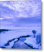 New Day At New Meadows Metal Print