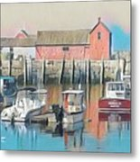 Rockport, Massachusetts Metal Print