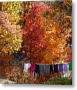 New England Color In October  Metal Print