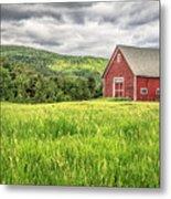 New England Farm Landscape Metal Print