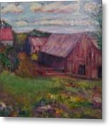New England Farm Metal Print