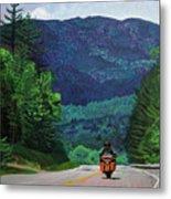 New England Journeys - Motorcycle 2 Metal Print