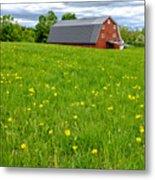 New England Landscape Metal Print