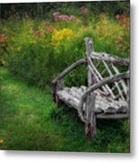 New England Summer Rustic Metal Print
