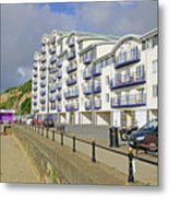 New Flats Overlooking Sandown Esplanade Metal Print