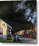 New Freedom Pa Steam Train Metal Print