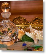 New Glass And Seaglass Metal Print