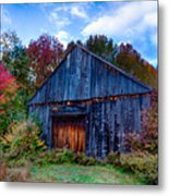 New Hampshire Barn Eaton Nh Metal Print