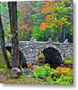 New Hampshire Bridge Metal Print