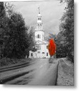 New Hampshire Church Metal Print
